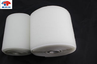 China White Nylon Hook And Loop Waterproof Hook And Loop Fastening Tape SGS Certificates supplier